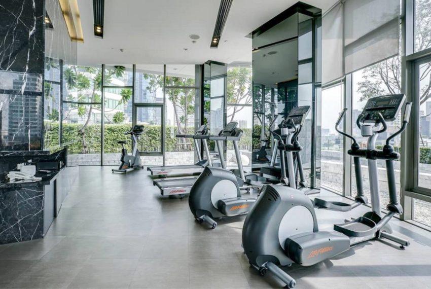 HQ Thonglor by Sansiri condominium - fitness