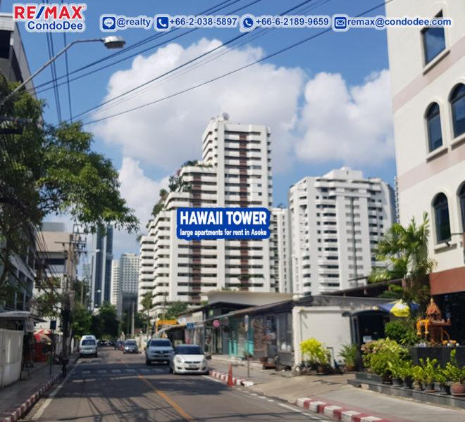 Hawaii Tower apartment - REMAX CondoDee