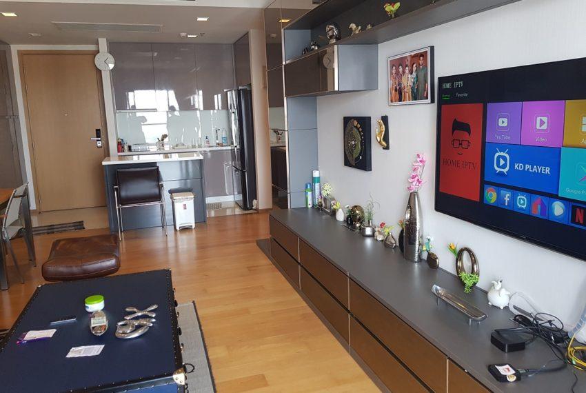 Hyde Sukhumvit 13 - 2 bedroom sale high floor - smart TV