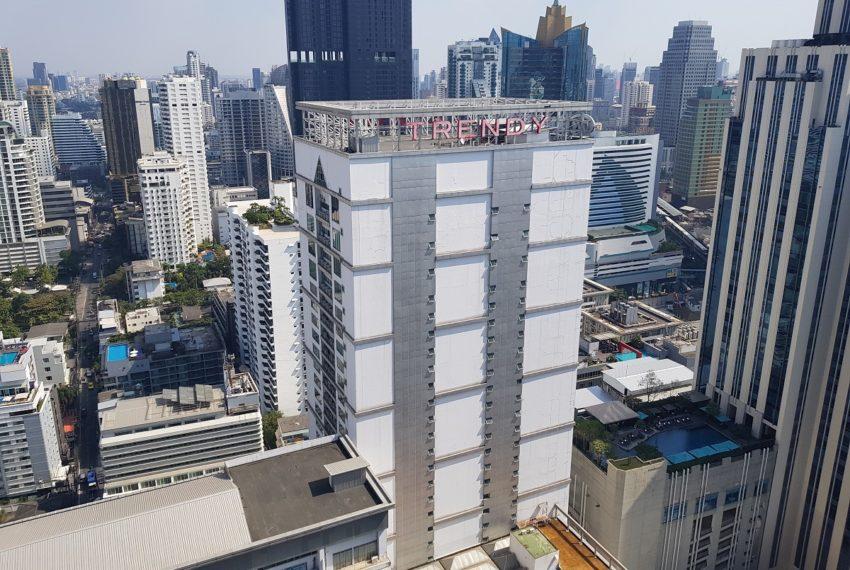 Hyde Sukhumvit 13 - 2 bedroom sale high floor - window view