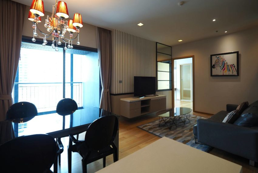 Hyde Sukhumvit 13 2-beds rental - living