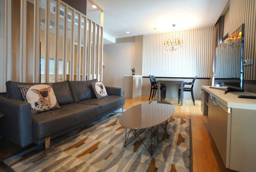 Hyde Sukhumvit 13 2-beds rental - living area