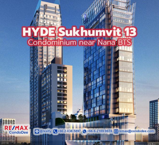 Hyde Sukhumvit 13 Condominium Near Nana BTS