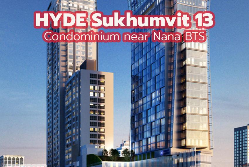 Hyde Sukhumvit 13 condo by REMAX CondoDee
