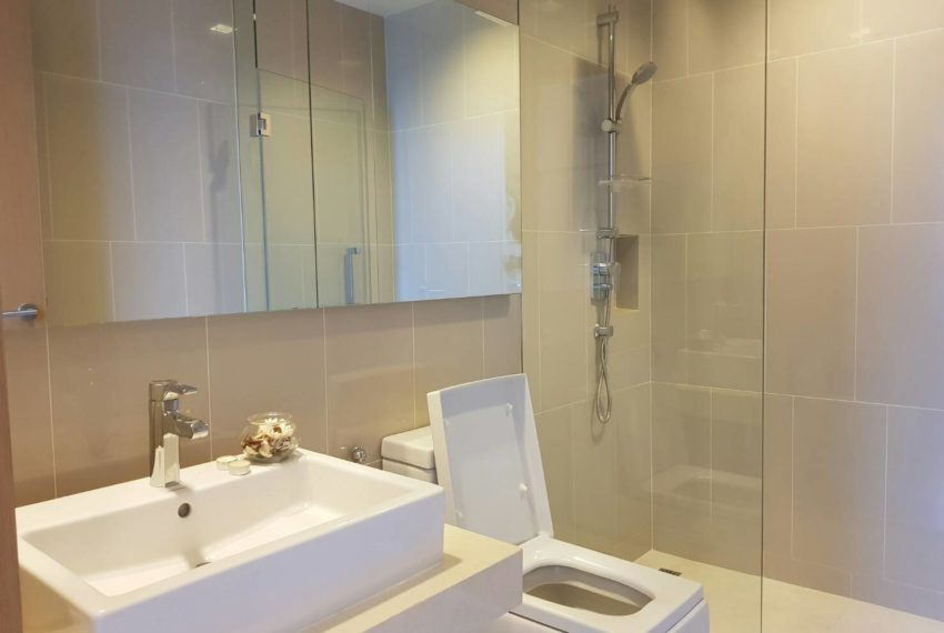 Hyde Sukhumvit 13 rental - 3 bedroom - low floor - bathroom-2