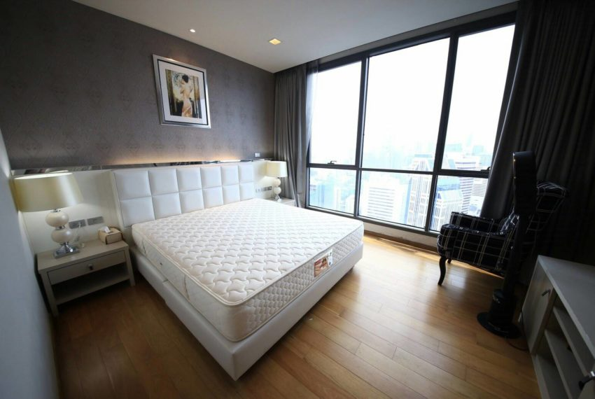 Hyde Sukhumvit 13 rental - 3 bedroom - low floor - bedroom