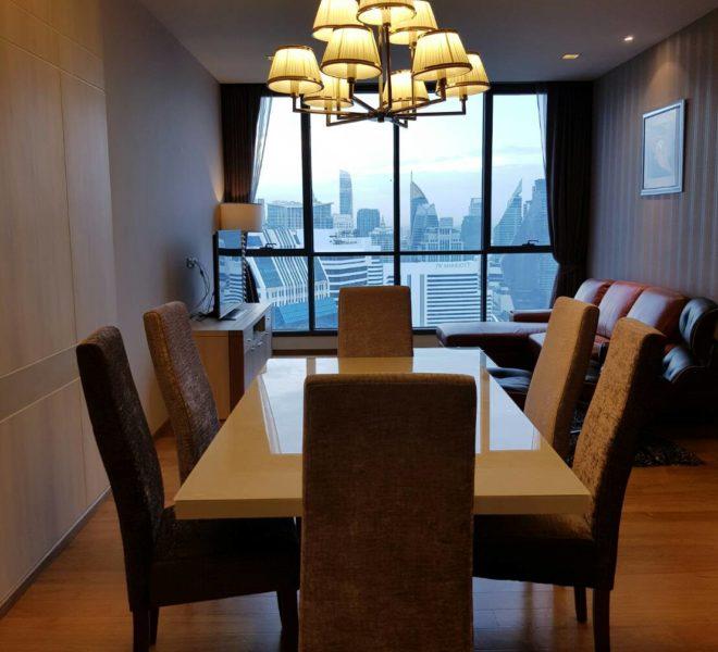 Hyde Sukhumvit 13 rental - 3 bedroom - low floor - dinning table