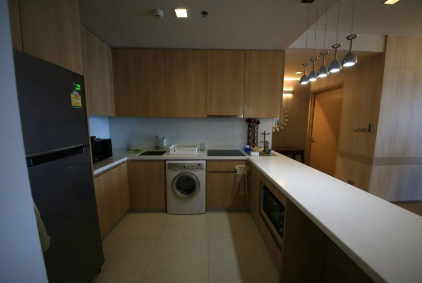 Hyde Sukhumvit 13 rental - 3 bedroom - low floor - kitchen