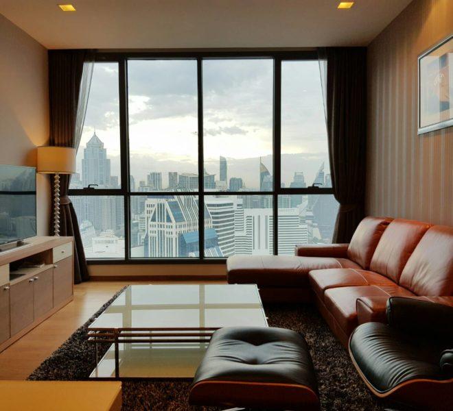 Hyde Sukhumvit 13 rental - 3 bedroom - low floor - livingroom-1