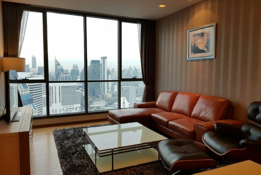 High floor luxury condo for rent in Bangkok - 3-bedroom - Hyde Sukhumvit