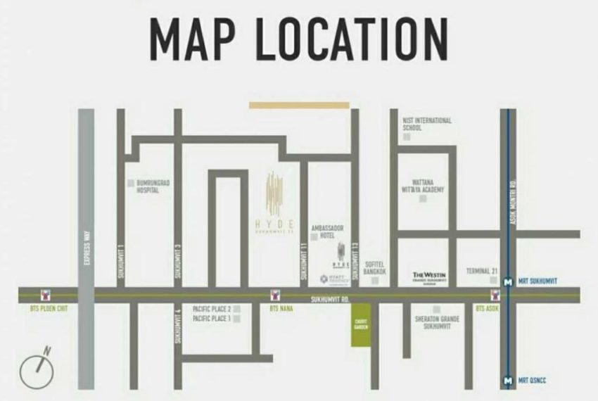 Hyde-Sukhumvit11-map