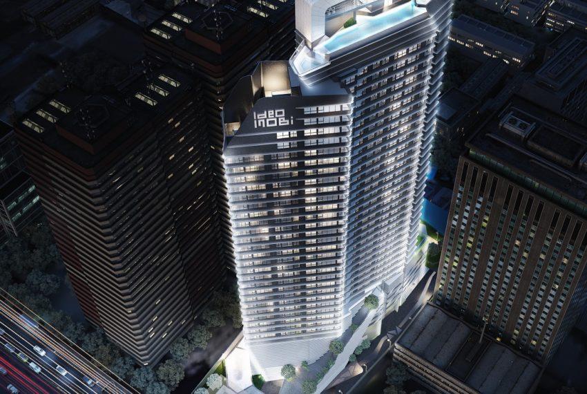 IDEO Mobi Asoke Condo - high rise building