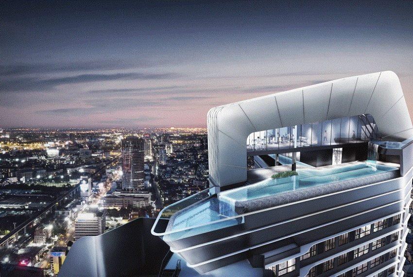 IDEO Mobi Asoke Condo - rooftop facilities