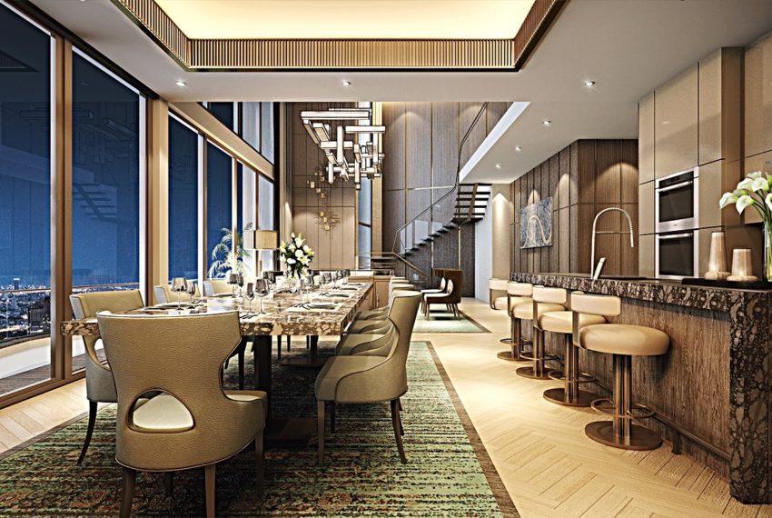 Icon-Siam-Mandarin-Oriental-Bangkok-condo-for-sale-dining