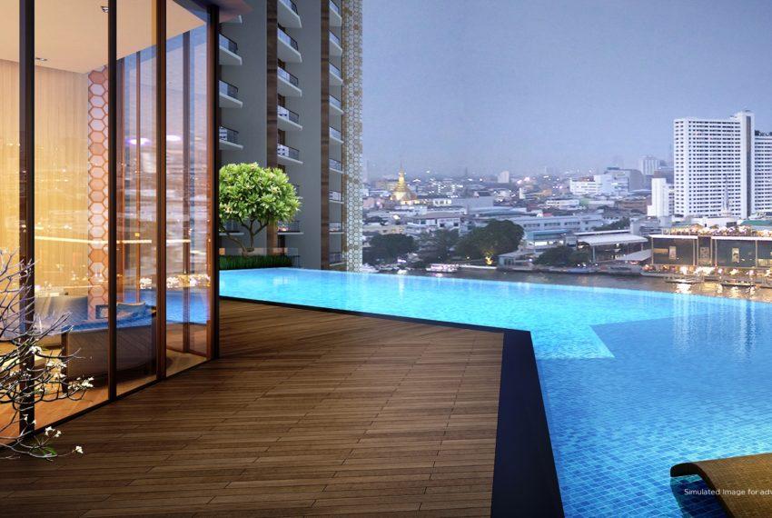 Icon-Siam-Mandarin-Oriental-Bangkok-condo-for-sale-garden-pool