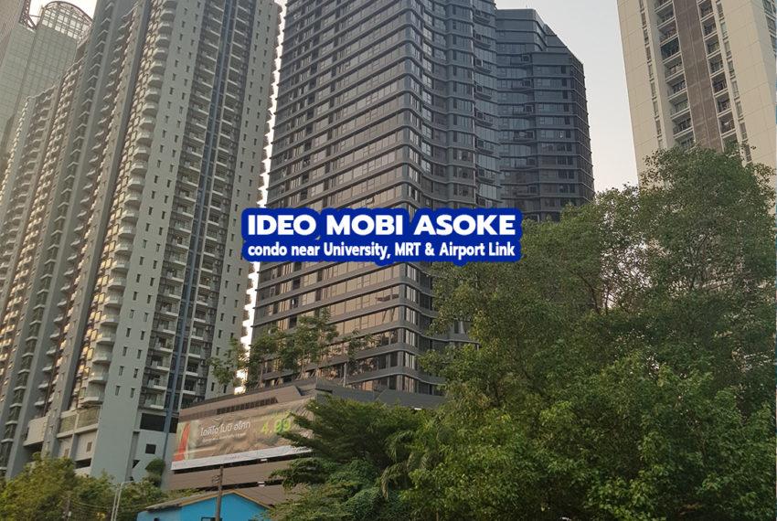 Ideo Mobi Asoke Condominium 1 - REMAX CondoDee
