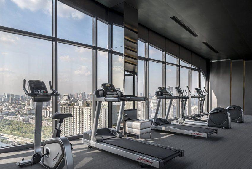 Ideo Mobi Asoke Condominium - gym view