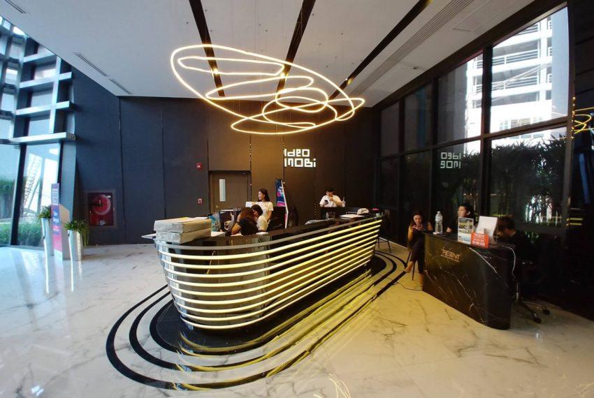 Ideo Mobi Asoke Condominium - reception