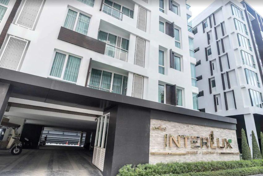 InterLux Premier Sukhumvit 13 condo - sign