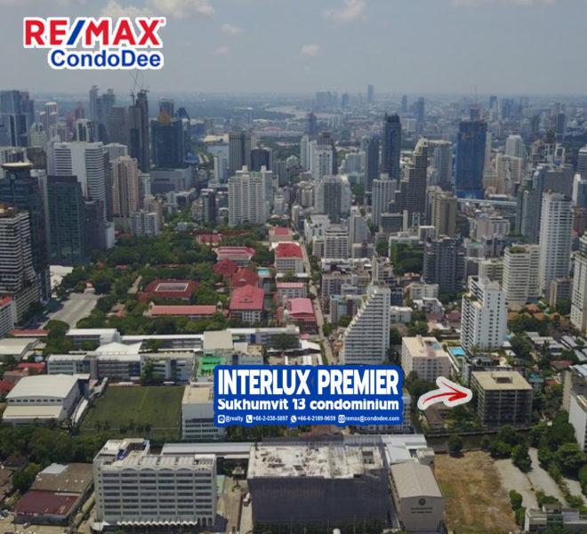 InterLux Premier Sukhumvit 13 Condominium in Nana Near Channel