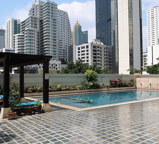 Jaspal Residence 2 Apartment for Rent at Sukhumvit 23