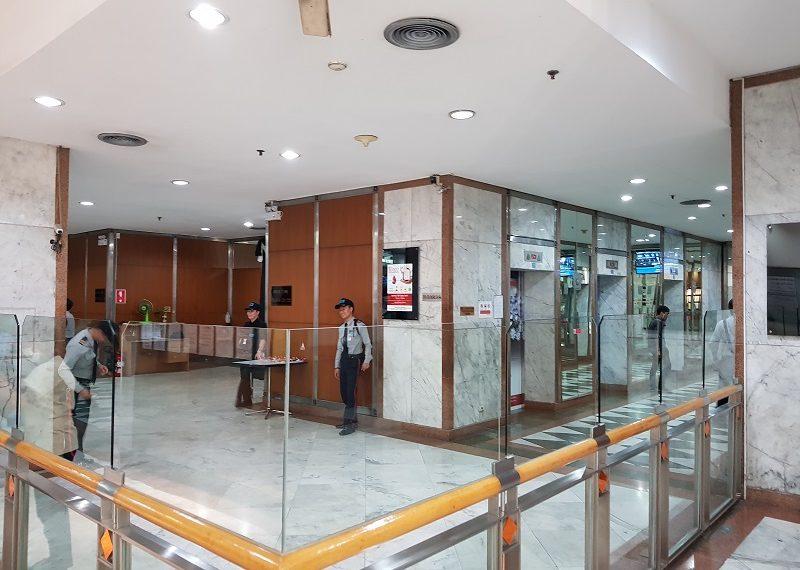 Jewelry Trade Center Bangkok security office entrance