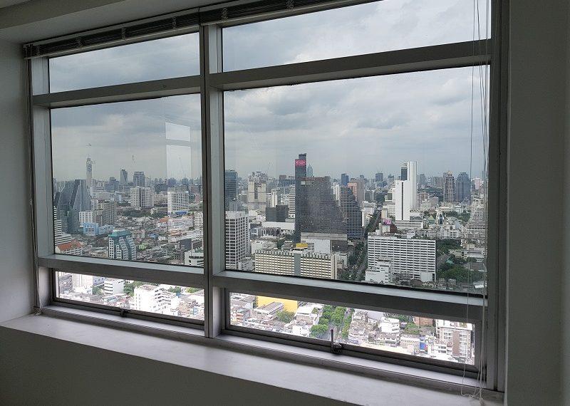 Jewelry Trade Center Bangkok view from window 1
