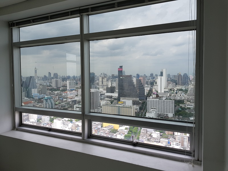 ... Jewelry Trade Center Bangkok view from window 1 ...