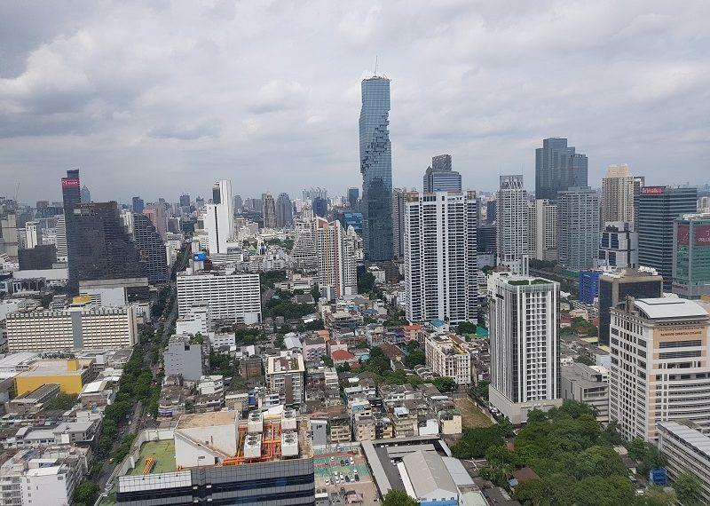 Jewelry Trade Center Bangkok view from window 2