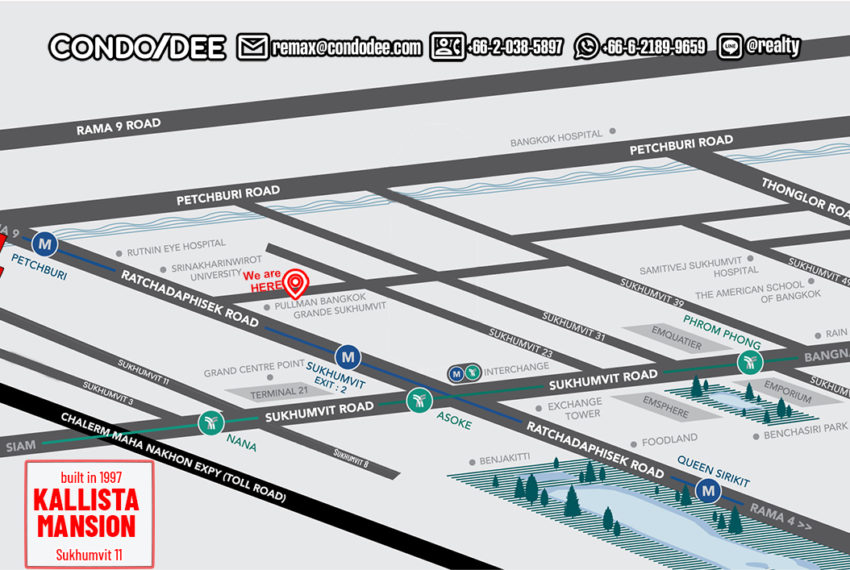 Kallista Mansion - map