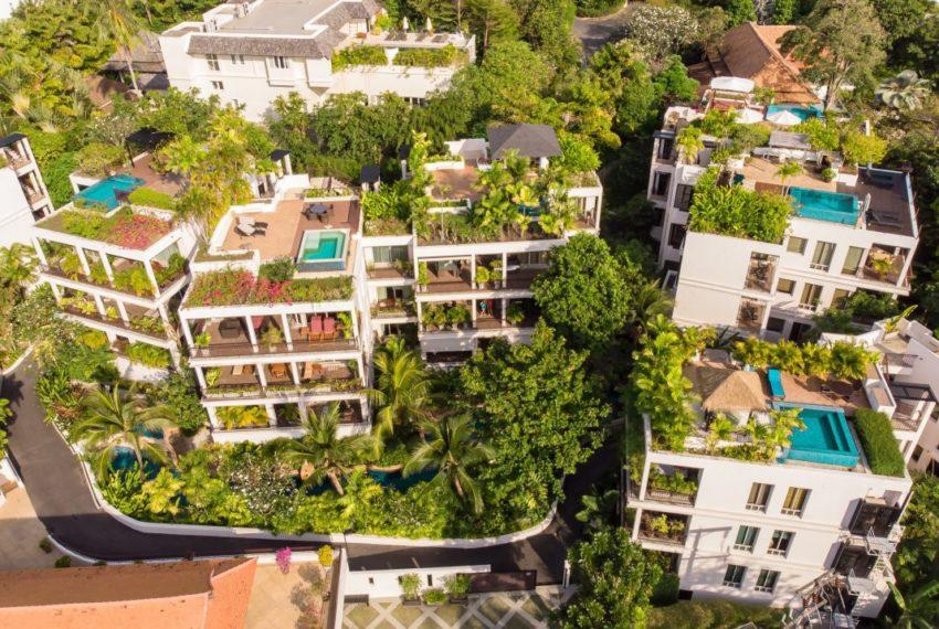 Kata Gardens condominium - project