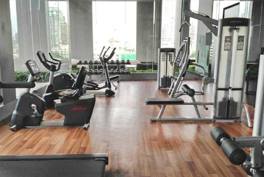 Keyne by Sansiri condo - gym