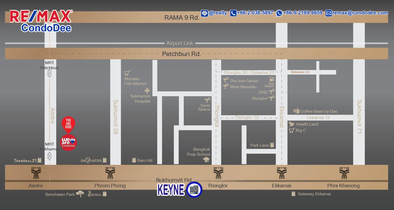Keyne by Sansiri Condominium in Sukhumvit Road With Direct Access To BTS Thonglor