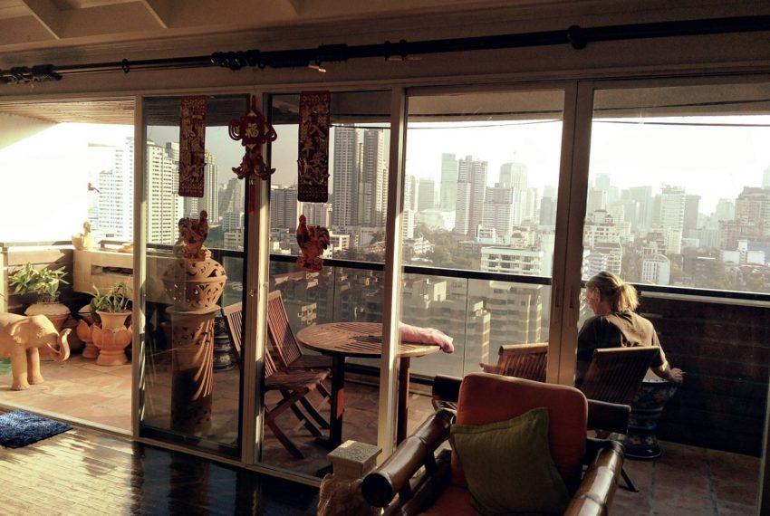 Kiarti Thanee City Mansion Duplex - balcony