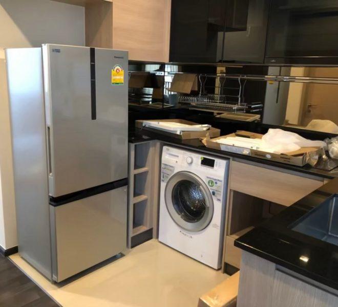 2-bedroom condo for sale near Rama 9 MRT - high floor - The Line Asoke-Ratchada