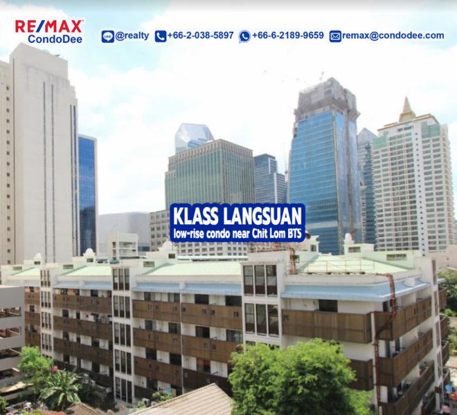 Klass Langsuan condominium 1 - REMAX CondoDee