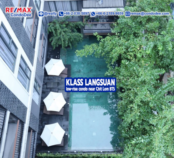 Klass Langsuan condominium - REMAX CondoDee