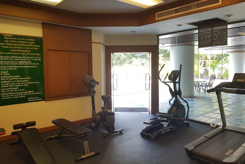 Lake Avenue Condominium Near Asoke BTS and Sukhumvit MRT- gym