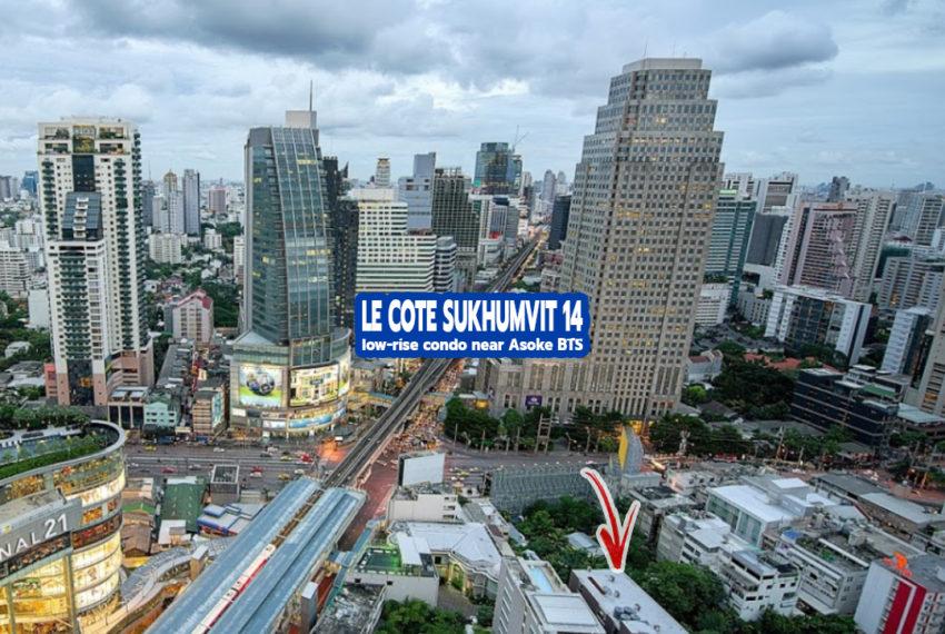 Le Cote Sukhumvit 14 Condominium 3 - REMAX CondoDee