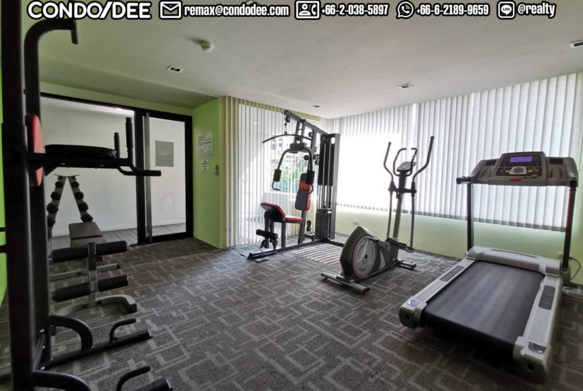 Le Cote Sukhumvit 14 condominium - gym