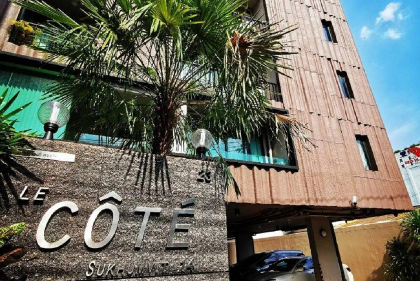 Le Cote Sukhumvit 14 condominium - parking