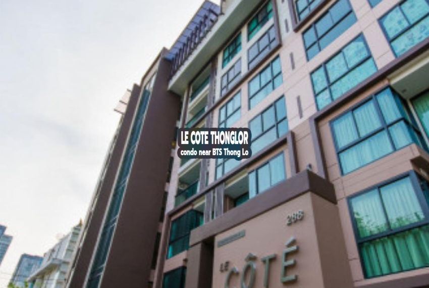 Le Cote Thonglor 8 - REMAX CondoDee