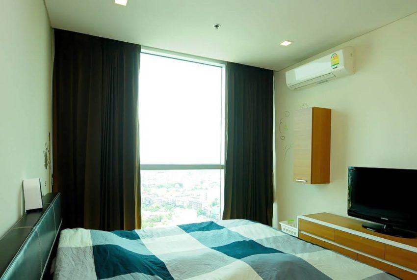 Le Luk Condominium near Phra Khanong BTS - 1bedroom-Sale - High Floor - bedroom