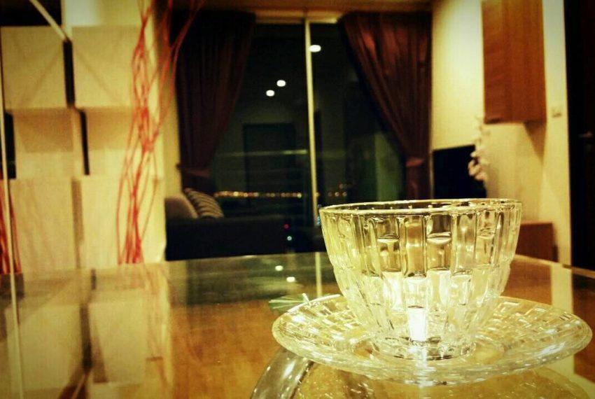 Le Luk Condominium near Phra Khanong BTS - 1bedroom-Sale - High Floor - dinning
