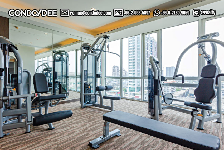 Le Luk Condominium near Phra Khanong BTS - fitness