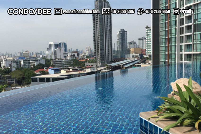 Le Luk Condominium near Phra Khanong BTS - swimming