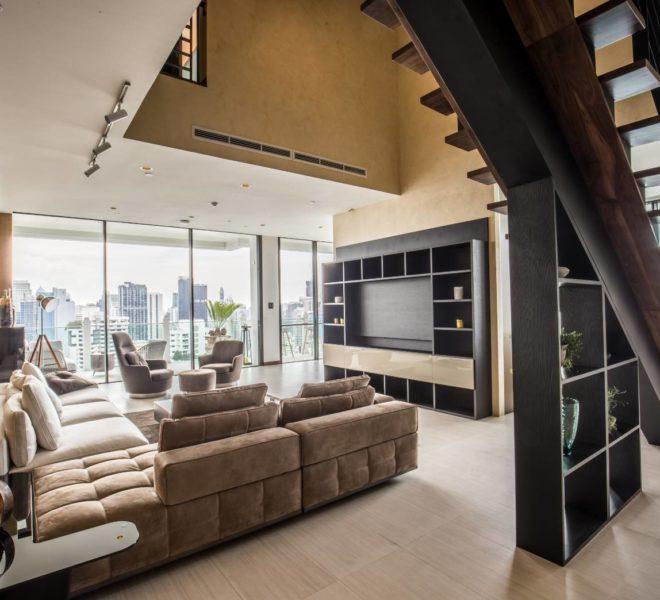 Le Raffine 39 - duplex -sale - living