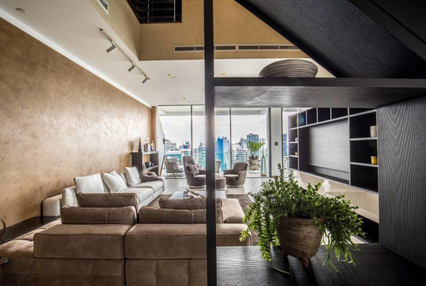 Le Raffine 39 - duplex -sale - living area