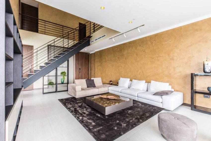 Le Raffine 39 - duplex -sale - living room