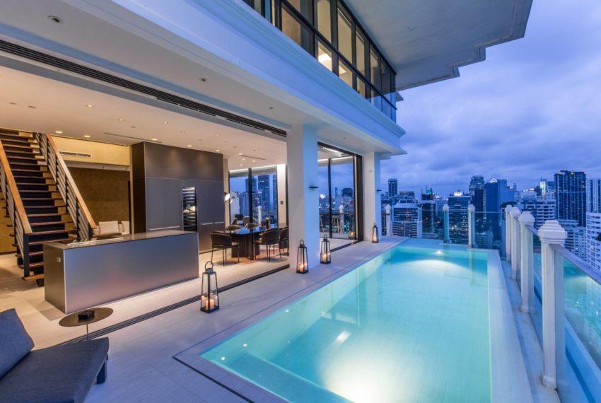 Le Raffine 39 - duplex -sale - swimming pool